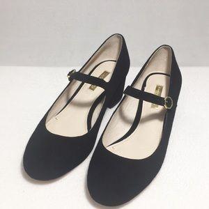 Louise et Cie Womens Leather Heels Black